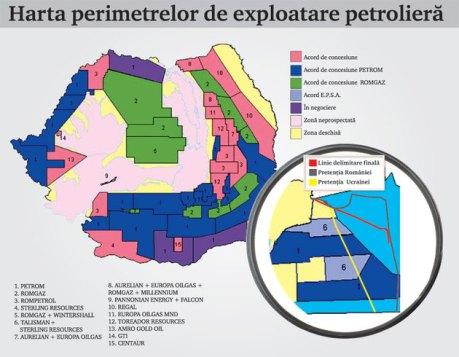 harta-exploatare-petrolie_Suprafețele-concesionate-de-ANRM